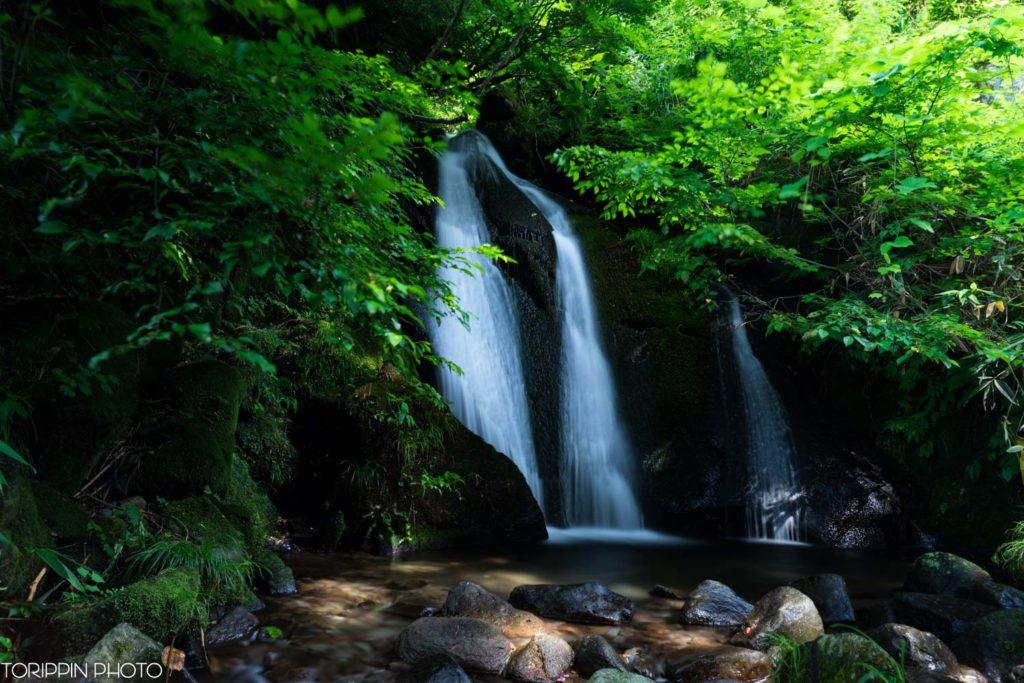 美しいお小夜滝