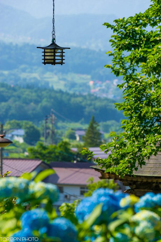α7ⅡとSEL70200Gで撮影した高源院(あじさい寺)と戸狩の風景