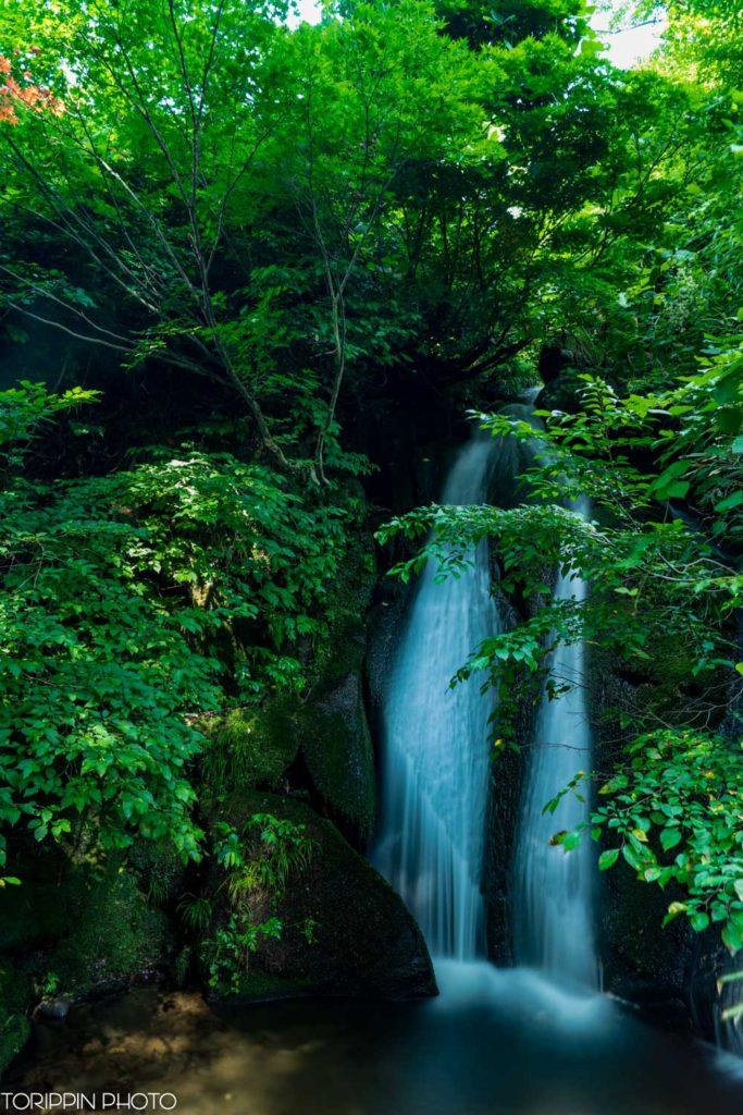 とんだいら高原のお小夜滝