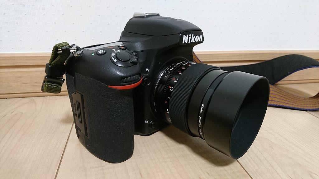 D750にフォクトレンダー NOKTON 58mm F1.4 SLIIを装着2