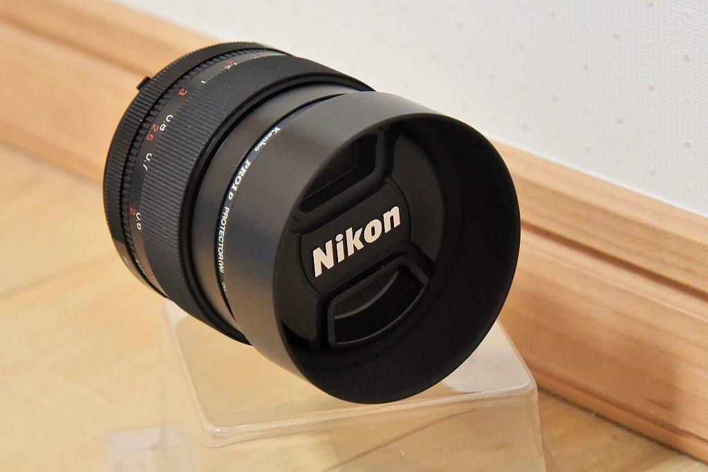 フォクトレンダー NOKTON 58mm F1.4 SLIIにレンズキャップ