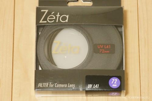ケンコー製Zeta「UV L41」をSTFレンズ用に用意